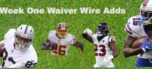 2019 Fantasy Football: Top Waiver Wire Adds after Week One