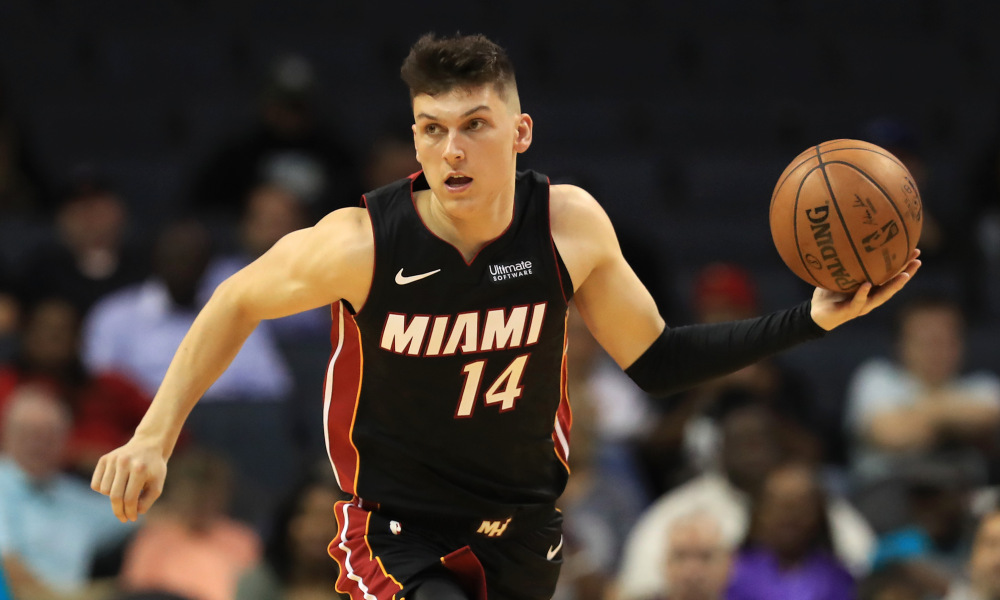 Heat's ability to Contend: Rookie Tyler Herro