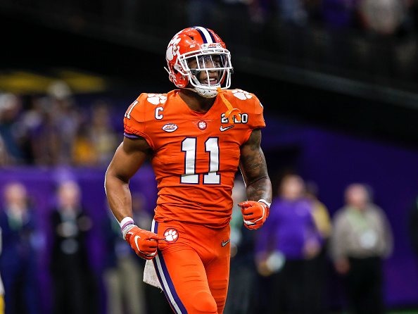 Isaiah Simmons. Clemson Tigers linebacker #11