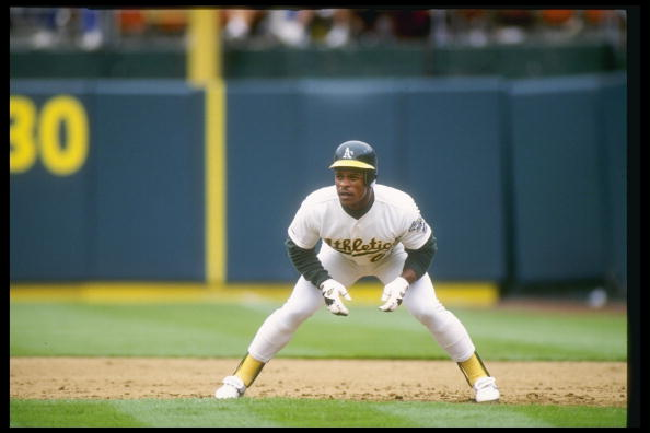 Oakland Athletics Mount Rushmore: Rickey Henderson