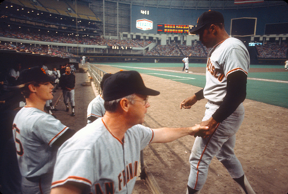 San Francisco Giants Mount Rushmore Willie Mays