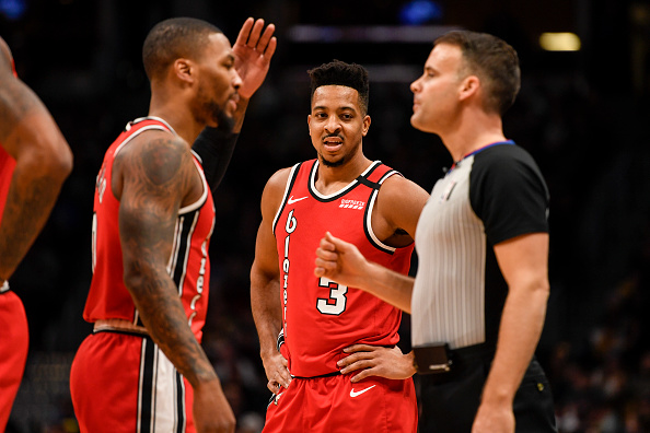 Trail Blazers Face Tough Road to 8th Seed