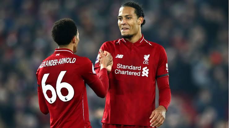 Virgil Van Dijk Score brace as Liverpool beat Brighton 2-1