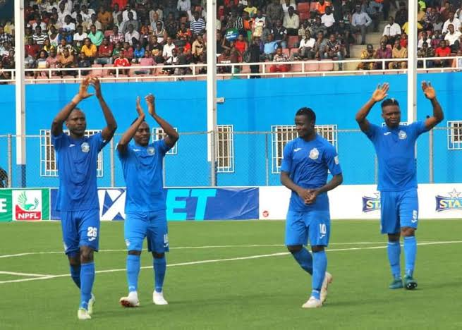 Enyimba Defeat Paradou 4-1 As Dimgba Scores Hat-trick in the CAF Confederations Cup