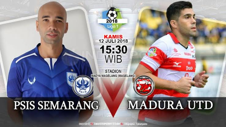Watch PSIS Semarang vs Madura United Live Streaming