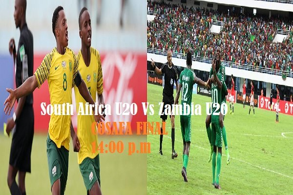Watch South Africa U20 Vs Zambia U20 Live Streaming