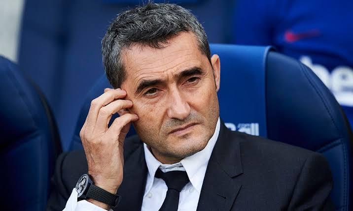 Barcelona Put Ernesto Valverde Job At Risk Again