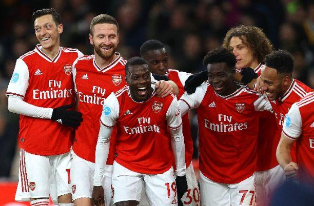 Mikel Arteta's Side Arsenal Thrash Newcastle 4-0 At The Emirate On Sunday