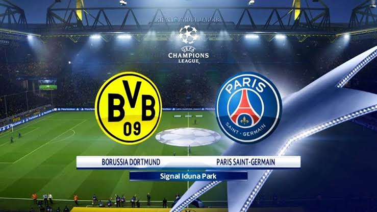 Borussia Dortmund vs Paris Saint Germain Live Streaming Of UEFA Champions League