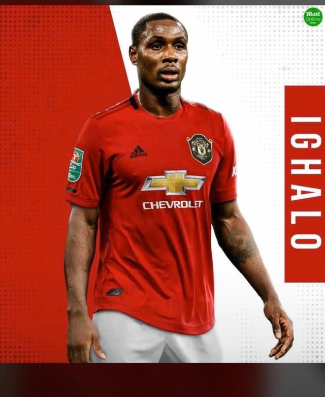 Odion Ighalo gets Antonio Valencia Jersey Number in Manchester United