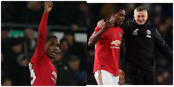 Ighalo dedicated his 2 goals to his late sister, see what Ole says about his him