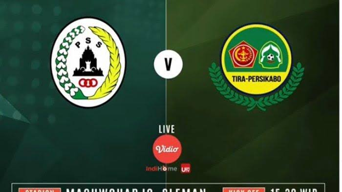 Watch PSS Sleman vs TIRA Persikabo Live Streaming