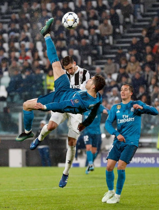 When Cristiano Ronaldo scored 5 goals in the Champions League qaurter-final against Bayern Munich