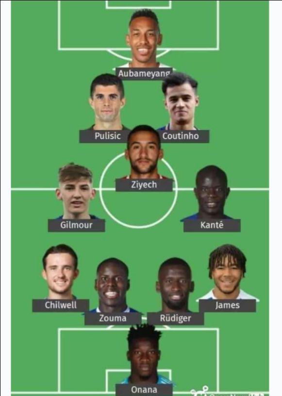 Chelsea Dream team