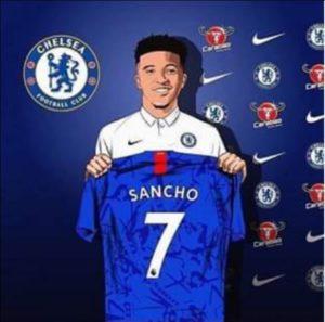 Chelsea Close To Sign Jadon Sancho, Shirt Number Leaked