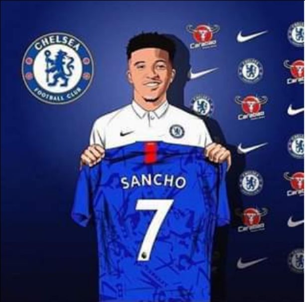 Chelsea Close To Sign Jadon Sancho, Shirt Number Leaked
