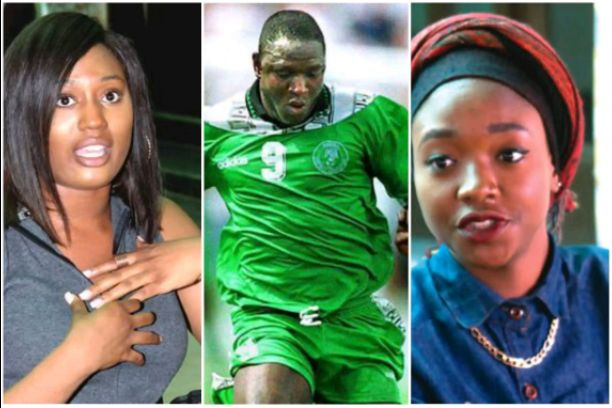 8 Years After His Death, Rashidi Yekini's Daughters, Rashidat, Omoyemi Keeping His Name Alive