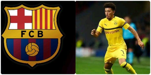 Barcelona Sets To Sign Jadon Sancho From Dortmund