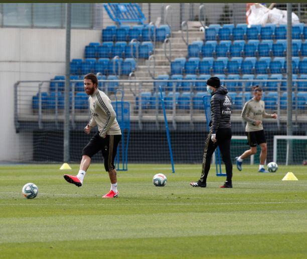 Real Madrid returns to training ahead of La Liga resumption