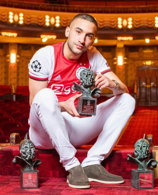 Chelsea Dream Boy Hakim Ziyech Wins Ajax's Player of the Year Third in a Row