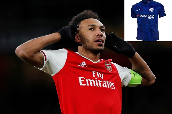 Chelsea Close To Sign Pierre-Emerick Aubameyang With £40m From Arsenal, Shirt Number Reveals