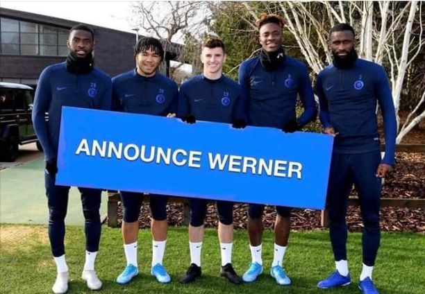 Timo Werner Announcement: Tammy Abraham, Other Blues' Players Await Chelsea to Announces Werner Arrival