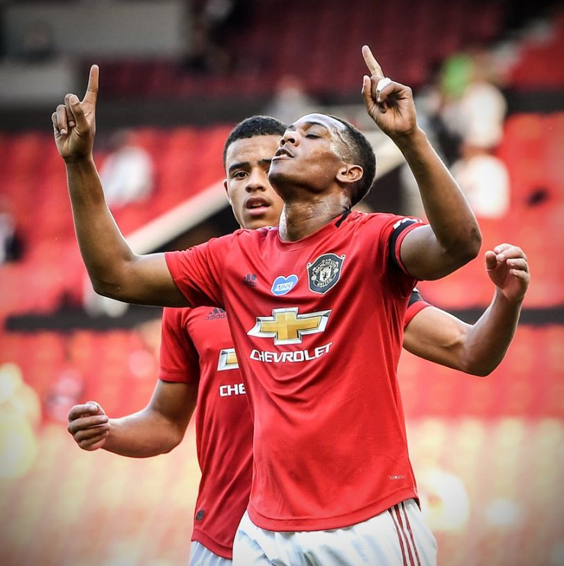 Man United 3-0 Sheffield United: Anthony Martial scores hat-trick as Manchester United seal first win after League restart season