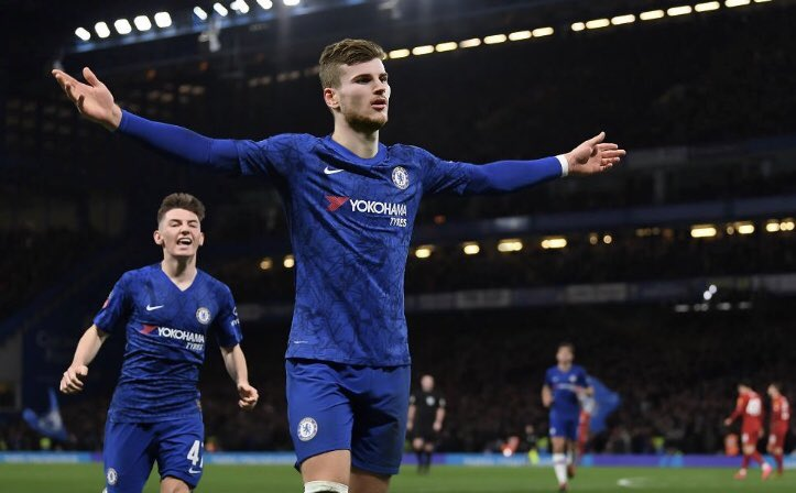 Timo Werner scores first debut goal for Chelsea against Brighton