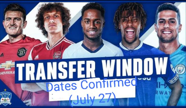 Premier League summer transfer window dates confirmed, starting from July 27 to October 5, 2020
