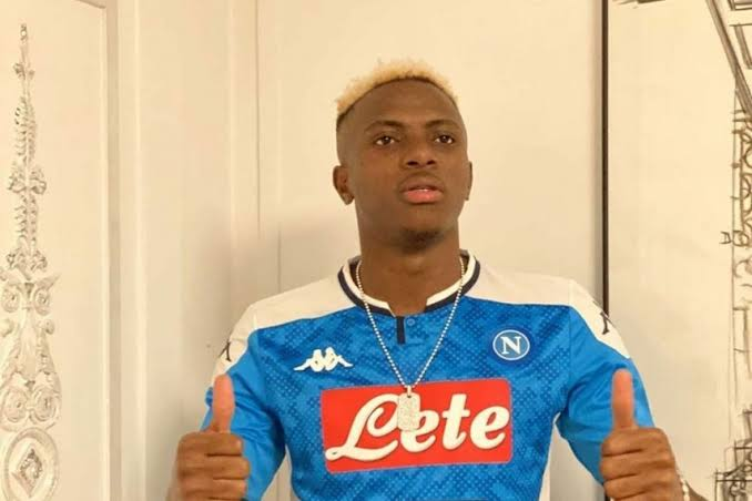 Victor Osimhen become most expensive African footballer in history after Napoli moved