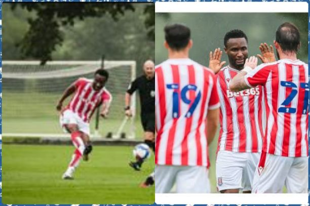 John Obi Mikel scores in first debut for Stoke City after a 5-1 pre-season win over Shrewsbury