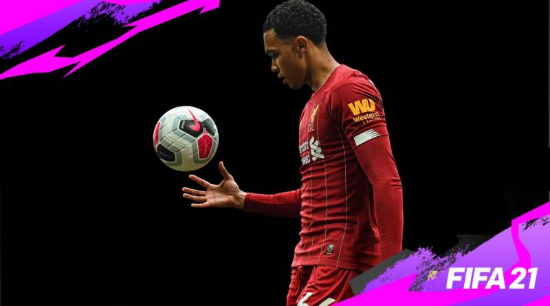 FIFA 21 career mode feature Liverpool defender, Trent Alexander-Arnold incredible technical ability