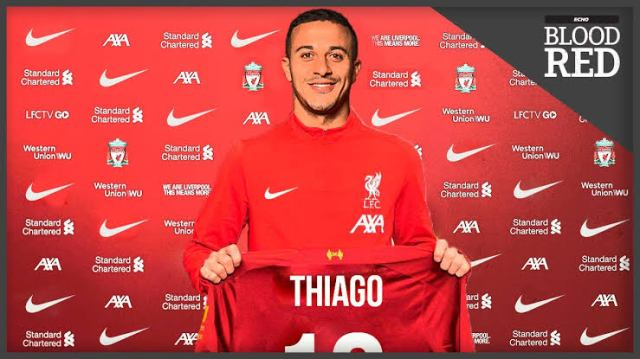 Liverpool complete £25m Thiago Alcantara deal from Bayern Munich
