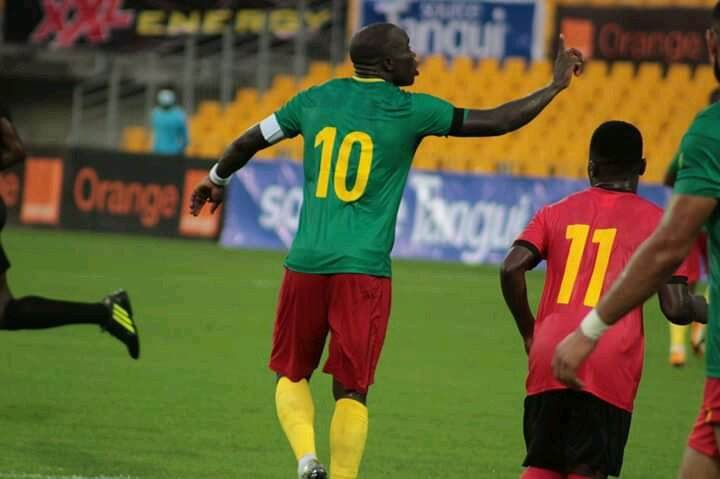 Aboubakar scores brace as Cameroon thrash Mozambique 4-1