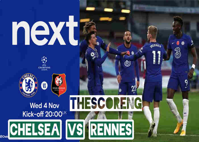Chelsea Lineup vs Rennes, Team News, Kick Off Time and TV Channel
