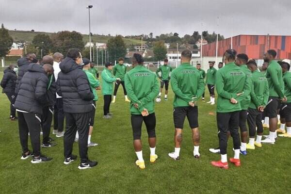 Super Eagles begin training ahead of AFCON qualifier against Sierra Lone