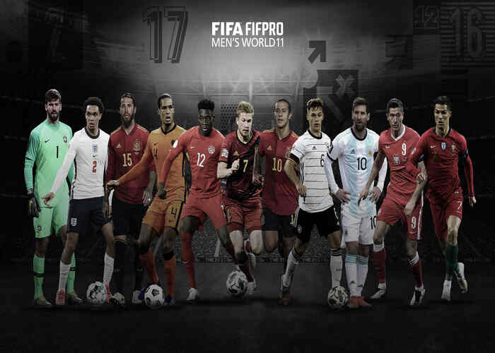 2020 FIFA FIFPro Men's World XI
