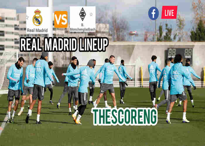 Real Madrid vs Borussia Monchengladbach Lineup, Match Details and TV Channel