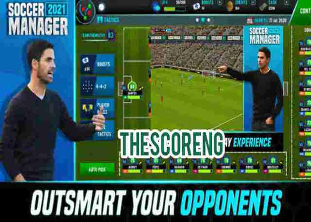 Soccer Manager 2021 Mod APK Download Free For Android & PC (Unlimited Money)