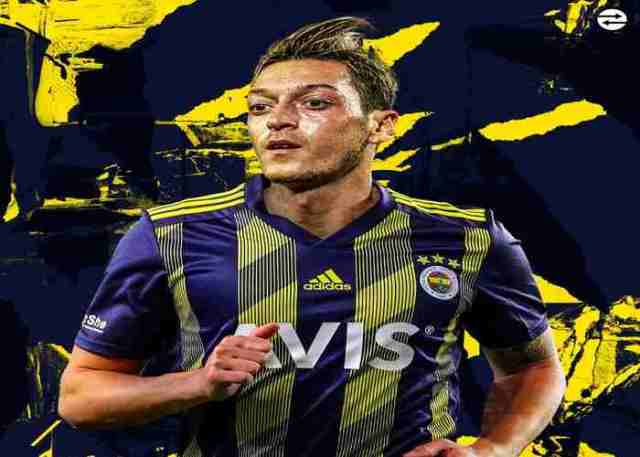 Fenerbahce set announce the signing of Arsenal star, Mesut Ozil