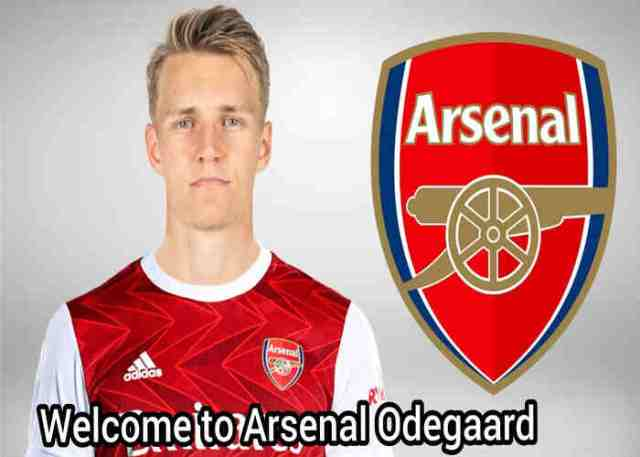 Arsenal completes Martin Odegaard loan deal from Real Madrid