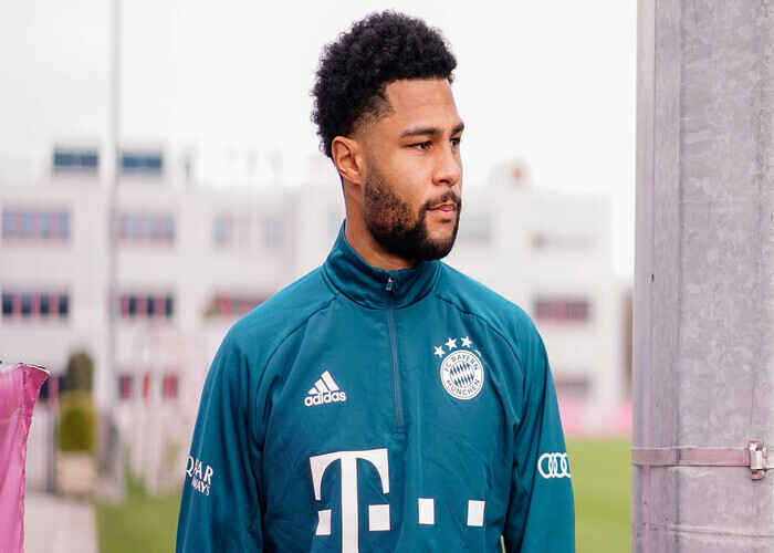 Serge Gnabry tested positive for Covid-19 miss Champions League against PSG