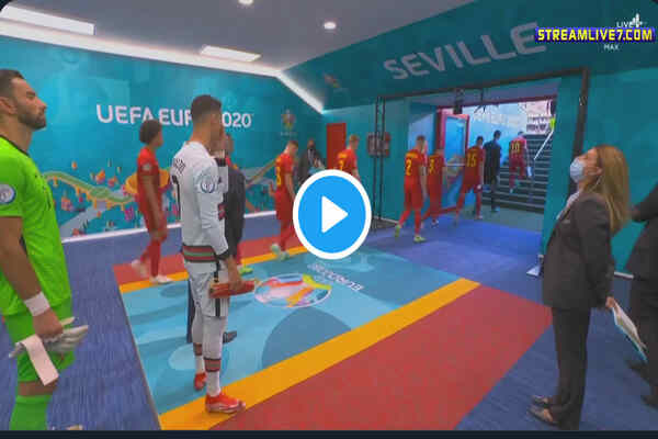 Watch Belgium vs Portugal Live Streaming