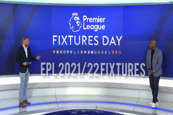 Full Premier League 2021/22 Fixtures