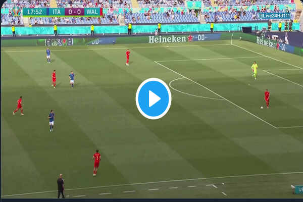 Watch Italy vs Wales Live Streaming of Euro 2020