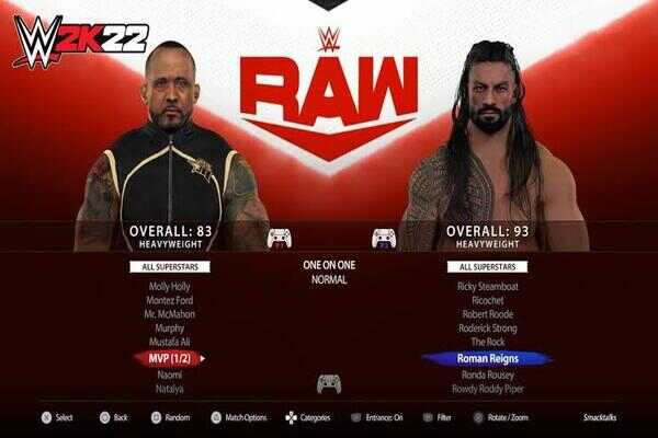 WWE 2K22 Apk PPSSPP Iso File Free Download on Android