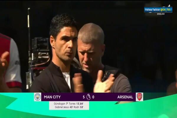 Ferran Torres scores brace as Manchester City thrash Arsenal 5-0