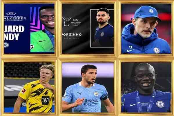 Full List Of UEFA Awards 2021 Winners