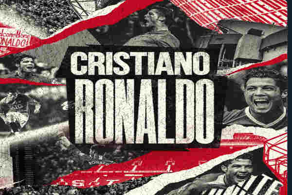 Manchester United announces signing of Cristiano Ronaldo from Juve