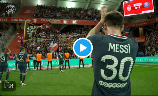 Lionel Messi makes debut for PSG's 2-0 win over Reims